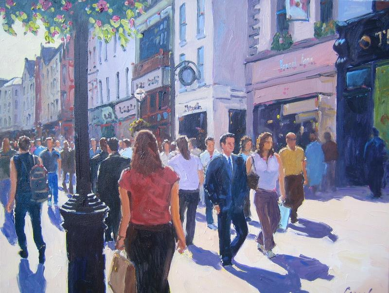 City and urban paintings -