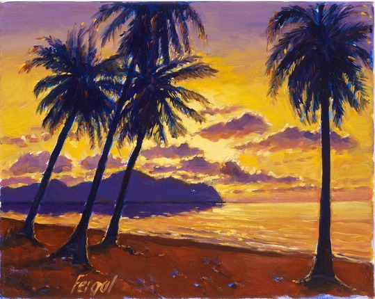 Ricepaper-Paintings of Thailand and Laos   -