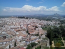 Antequera from the castle